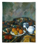 Still Life With Teapot Fleece Blanket