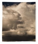 Storm Over Table Rock Fleece Blanket