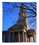 St.philips Episcopal Church In Charleston Sc Fleece Blanket
