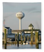 Strathmere New Jersey Fleece Blanket