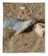 Stuck In The Sand Fleece Blanket
