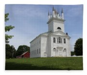Sudbury Congregational Church  Fleece Blanket