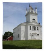 Sudbury Congregational Church  Fleece Blanket