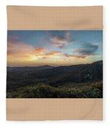Summer Overlook Fleece Blanket
