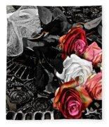Sundial Bouquet Fleece Blanket