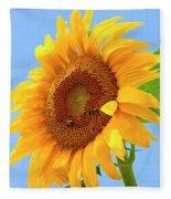 Sunflower Joy Fleece Blanket