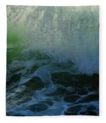 Sunlight And Surf Fleece Blanket