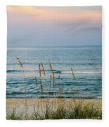 Sunrise And Sand Fleece Blanket