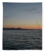 Sunrise At Townsends Inlet Fleece Blanket