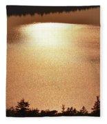 Sun's Reflection Fleece Blanket