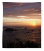 Sunset Watch Fleece Blanket
