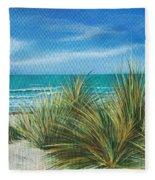 Surf Beach Fleece Blanket