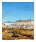 Susanin Square In Kostroma Fleece Blanket