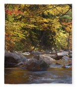 Swift River - White Mountains New Hampshire Usa Fleece Blanket