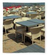 Tables Fleece Blanket