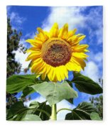 Tall And Sunny Fleece Blanket