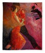 Tango Fleece Blanket