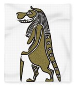 Taweret - Mythical Creature Of Ancient Egypt Fleece Blanket
