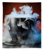 Tea Cup Fleece Blanket