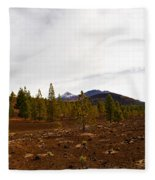 Teide  Nr 11 Fleece Blanket