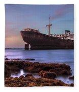 Temple Hall - Lanzarote Fleece Blanket