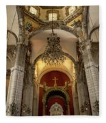 Templo Expiatorio A Cristo Rey - Mexico City I Fleece Blanket