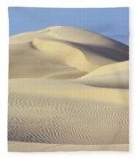 Thar Desert Dunes Fleece Blanket
