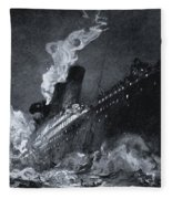 The 46,328 Tons Rms Titanic Of The Fleece Blanket