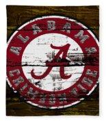 The Alabama Crimson Tide Fleece Blanket