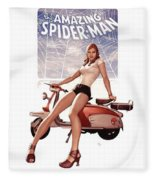 The Amazing Spider-man Fleece Blanket
