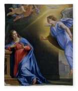 The Annunciation Fleece Blanket