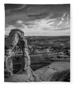 The Archway Bw Fleece Blanket