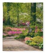 The Azalea Path Fleece Blanket
