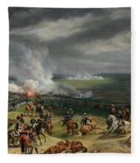 The Battle Of Valmy Fleece Blanket