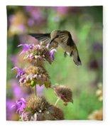 The Beauty Of Nature  Fleece Blanket