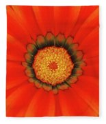 The Beauty Of Orange Fleece Blanket