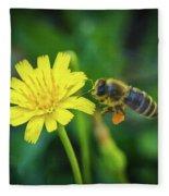 The Bee Fleece Blanket