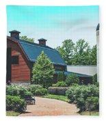 The Billy Graham Library Fleece Blanket