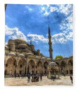 The Blue Mosque Istanbul Fleece Blanket