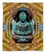 The  Buddhas Of Ayahrtyan  Fleece Blanket