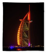The Burj Al Arab Fleece Blanket