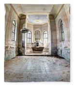 The Church Of The Exaltation Of The Holy Cross Fleece Blanket