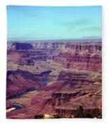 The Colorado River Fleece Blanket
