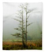 The Foggy Dew Fleece Blanket