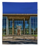 The Fort Worth Modern Art Museum Fleece Blanket