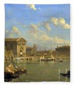 The Giudecca. Venice  Fleece Blanket