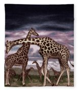 The Herd Fleece Blanket