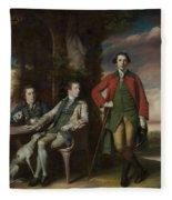 The Honorable Henry Fane With Inigo Jones And Charles Blair Fleece Blanket