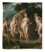 The Judgment Of Paris Fleece Blanket