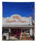 The Likely General Store - California  Fleece Blanket